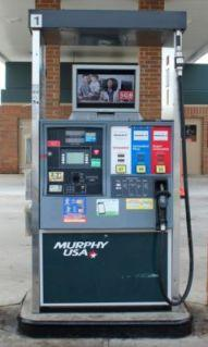 Gas Station Digital Video Pump Ad