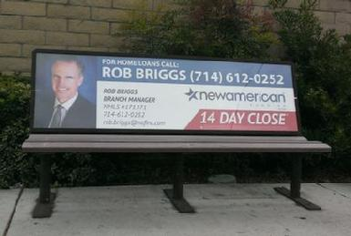 R. Riggs Bench Ad
