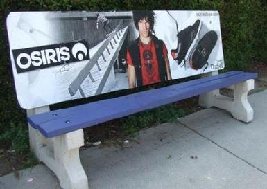 Osiris Shoes Bench Ad